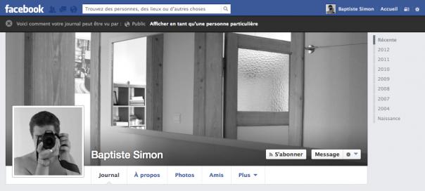 Facebook : L'option «Afficher en tant que» disparaît !