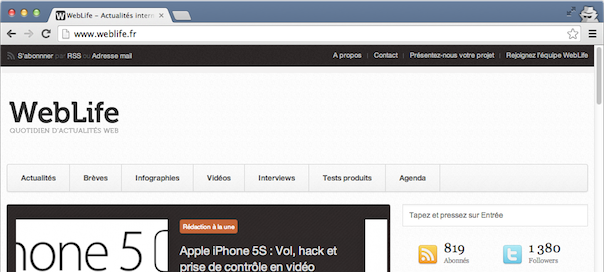 iOS 7 : Google Chrome, la navigation privée défectueuse