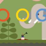 Google : Doodle André-Jacques Garnerin - Eléphant