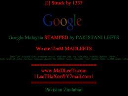 Google Malaisie