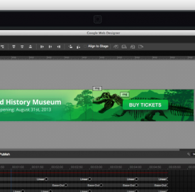 Google Web Designer : IDE de création d'animations HTML5