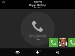 Google Hangouts : Voice