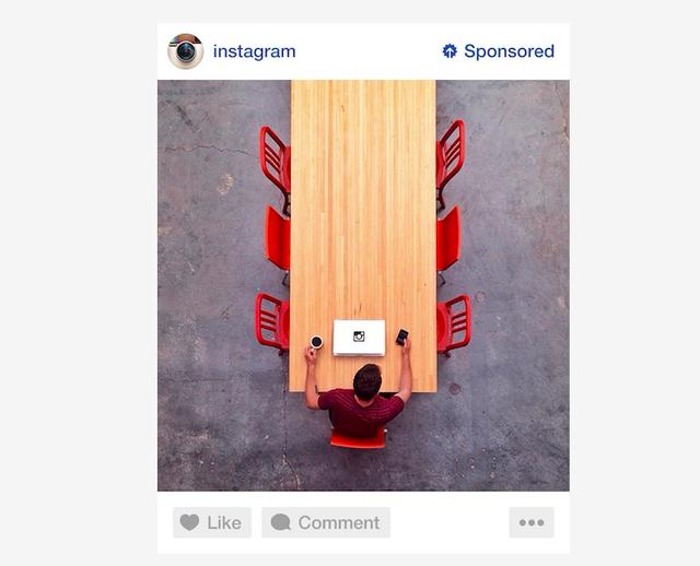 Instagram : Publicités