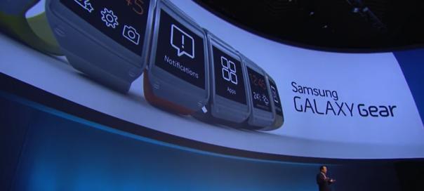 Samsung Galaxy Gear : Spots vidéo pour la montre