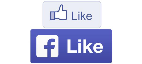 Facebook : Bouton J'aime