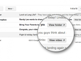 Gmail : Actions rapides - YouTube & Dropbox
