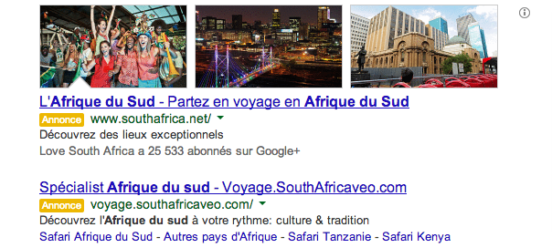 Google AdWords : L'extension images pousse au clic