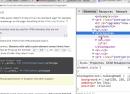 Google Chrome : Inspecter les pseudo-éléments CSS