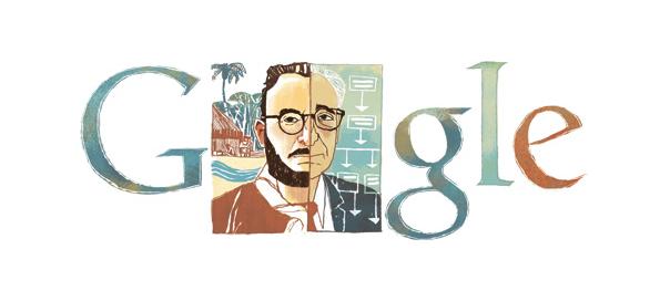 Google : Claude Lévi-Strauss & le structuralisme en doodle