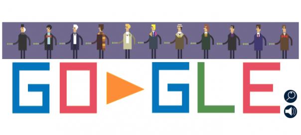 Google : Doctor Who, la série télévisée en doodle