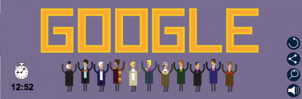 Google : Doodle Doctor Who - Fin