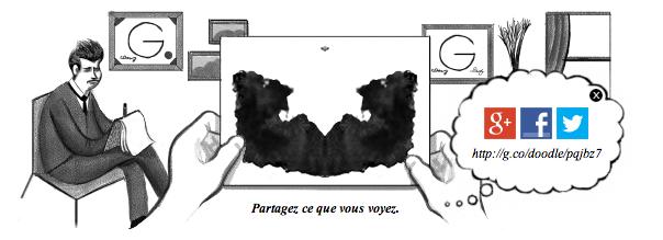 Google : Doodle Hermann Rorschach - Partage