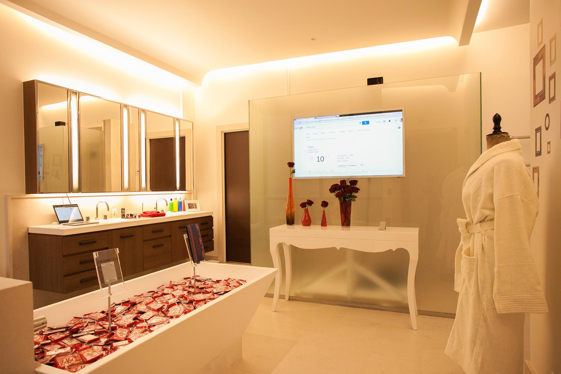 Google house salle de bain weblife for Salle de bain du futur