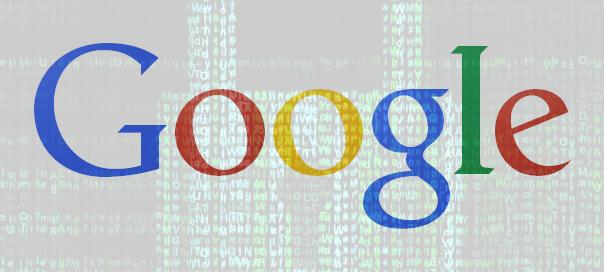Logo Google chiffré
