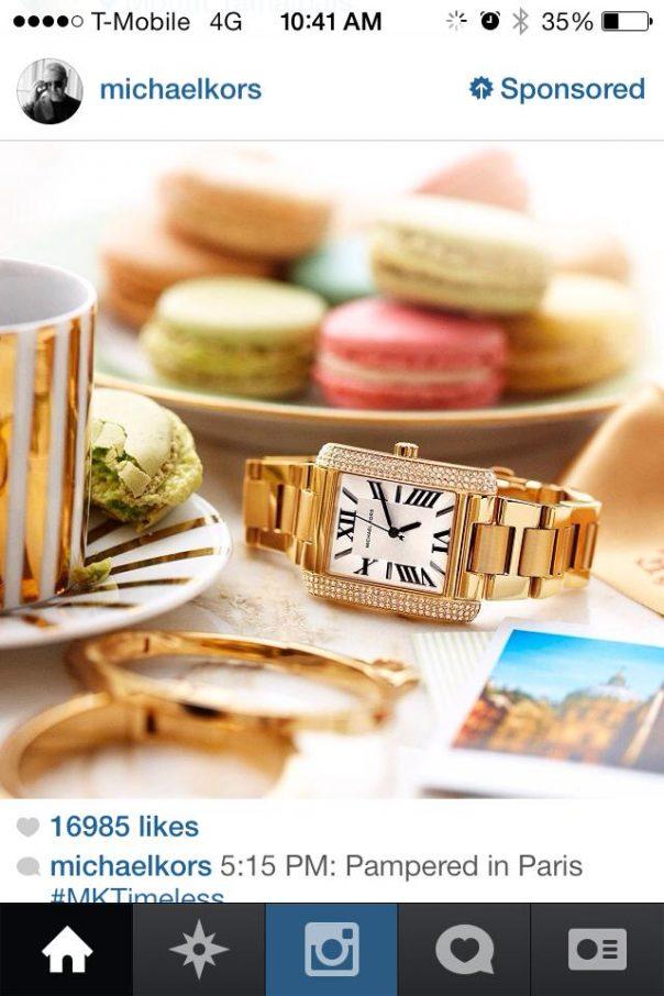 Instagram : Publicité