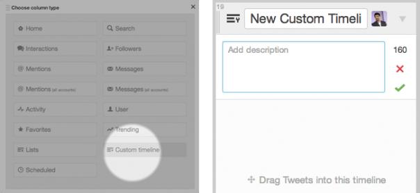Twitter : Création d'une timeline personnalisée