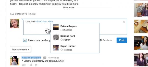 YouTube : Commentaires Google+ sur les pages vidéos