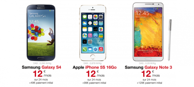 Free Mobile : Location de smartphone - Téléphones mobiles