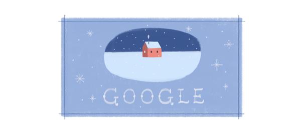 Google : Doodle de Joyeuses Fêtes - 26 décembre
