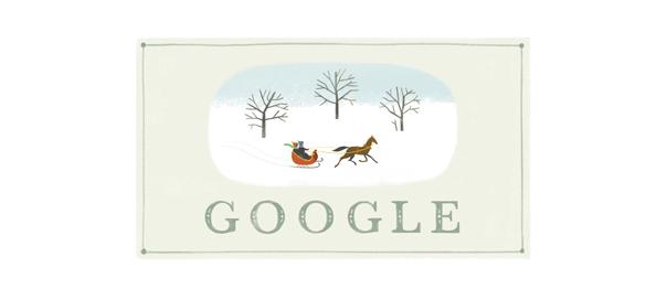 Google : De Joyeuses Fêtes de Noël en doodle & easter egg