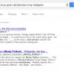 Google : «Termes manquants» des mots clés de recherche