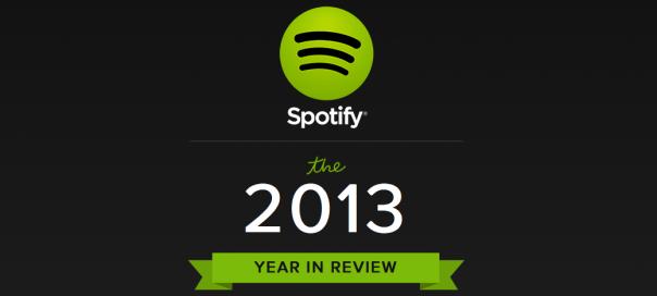 Spotify : Le meilleur de l'année 2013 en images !