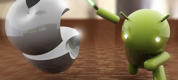 Android accroît sa présence sur les marchés tandis qu'iOS recule