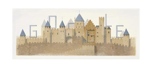 Google : Doodle Eugène Viollet-le-Duc