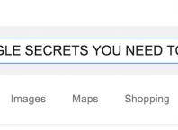 Google : Easter eggs