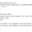 Google : API pour le tracker d'activité d'Android