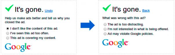 Google : Pourquoi cachez-vous les publicités ?