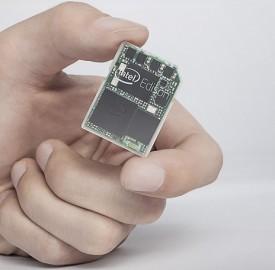 Intel Edison : Un ordinateur de la taille d'une carte SD