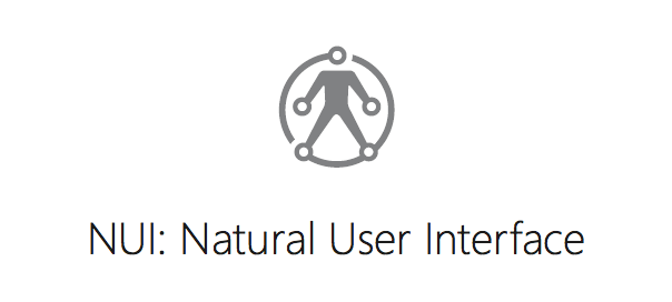 Microsoft Research : Natural User Interface (NUI)