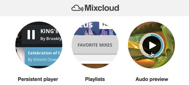 Mixcloud : Nouveau site & nouvelles fonctionnalités en ligne