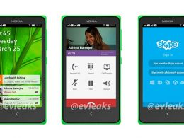 Nokia : Interface Android