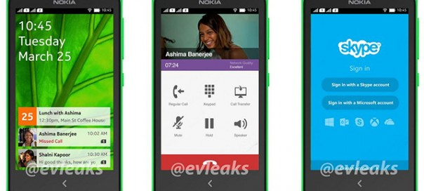 Nokia : Fuite de l'interface Android