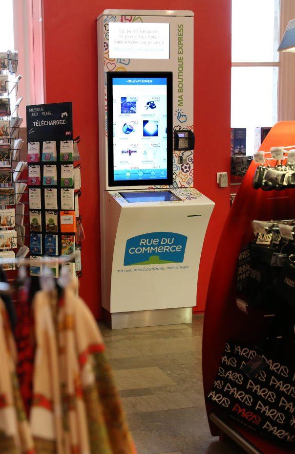 Rue Du Commerce : Borne Ma Boutique Express