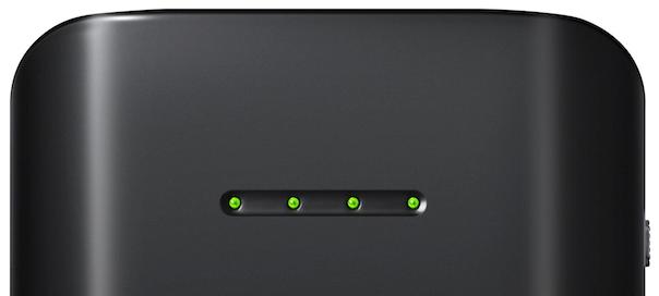 Samsung : Batterie externe portable de 9000mAh - Indicateur de charge (diodes)