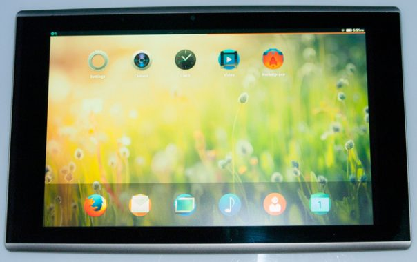 Firefox OS : Tablette tactile
