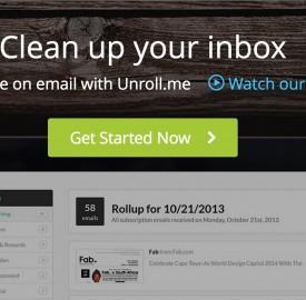 Unroll.me : Service web gratuit pour se désinscrire des newsletters en un clic