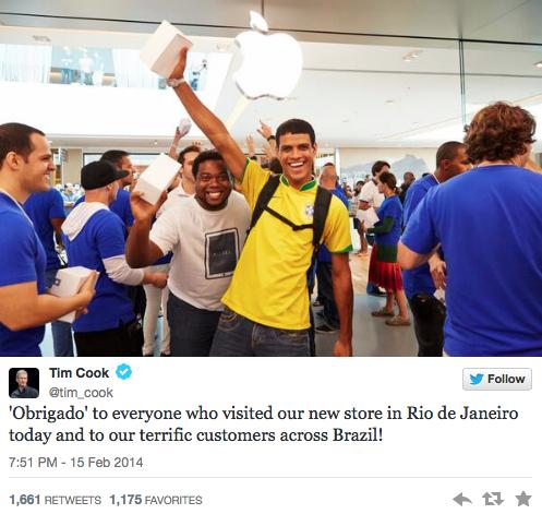 Apple Store au Brésil