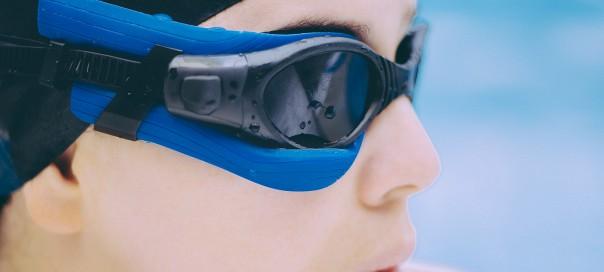 Instabeat : Nouveau capteur d'activité pour lunettes de natation