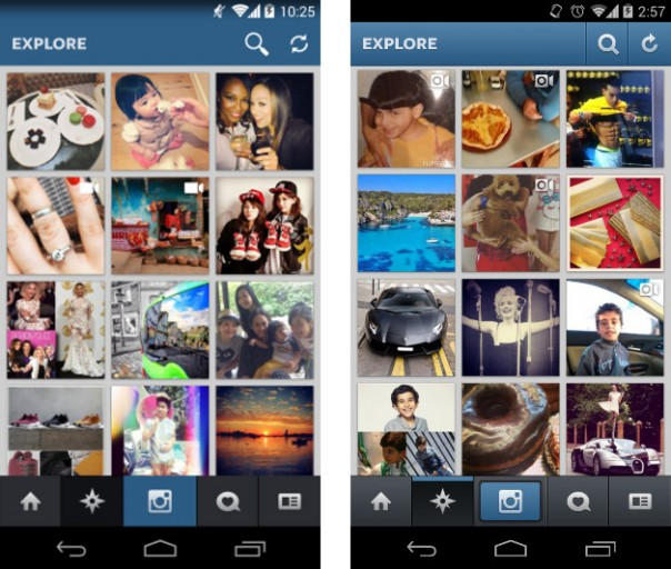 Flat Instagram