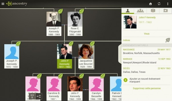 Application Ancestry