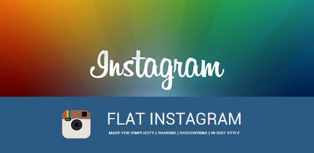 Flat Instargam
