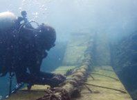 Câble sous-marin en fibre optique