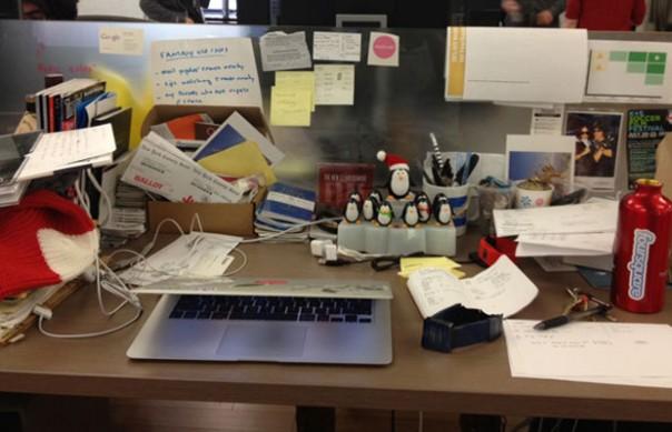 Bureau de Dennis Crowley, Foursquare