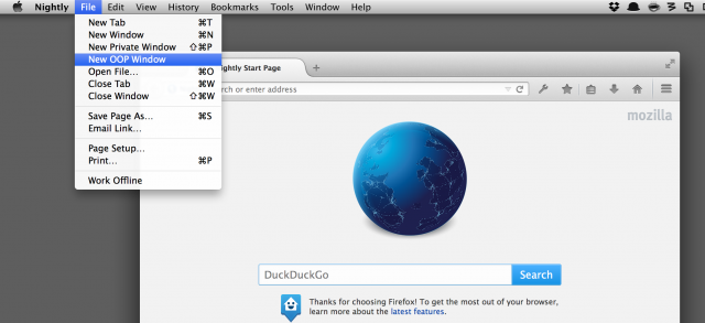 Firefox Electrolysis
