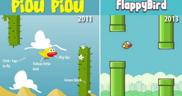 Flappy Bird vs Piou Piou