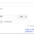 Gmail : Filtre de recherche sur la taille des emails